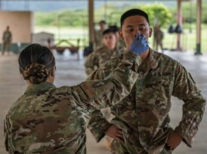 HIANG, Det 1, 154th Med Gp, Task Force Oahu 2020, Sgt John Schoebel, US ARNG, AD487991